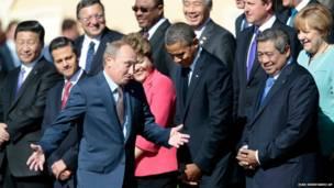 जी 20 बैठक के लिए सेंट पीटर्सबर्ग में इकट्ठा हुए राष्ट्राध्यक्ष