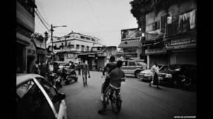 La calle Ripon, en el centro de Calcuta. Arindam Mukherjee.