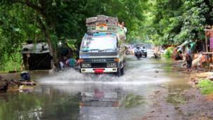 central burma flood