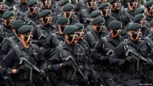 पिक्चर गैलरी, मैक्सिको, स्वतंत्रता दिवस, सैनिक परेड