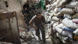 सीरिया, विद्रोही, एलेप्पो