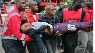 कीनिया, नैरोबी, गोलीबारी