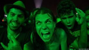 Поклонники группы Slayer  в Рио