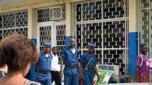 Les mesures de sécurité ont été renforcées à Bujumbura par crainte d'un attentat par les Chebab. 26 09 2013 Photo AFP