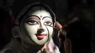 दुर्गा पूजा की तैयारियां