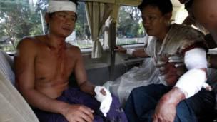 Thandwe clash