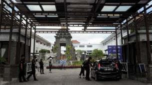 Pemeriksaan keamanan di Bali