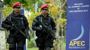 Aparat keamanan di Bali