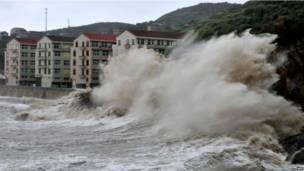 Fitow Typhoon