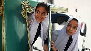 Niñas en Pakistán