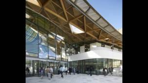 Университет Эксетера. Здание Forum Project - WilkinsonEyre Architects.