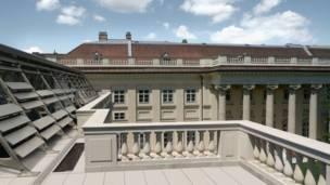 Дворец Разумовских в Австрии - Baar Baarenfels Architeken.