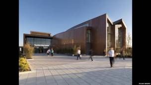 Спортивно-развлекательный центр Slpashpoint - Wilkinson Eyre Architects.