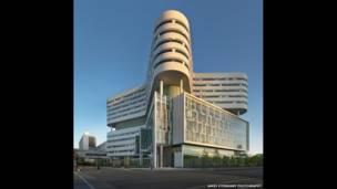 رش یونیورسٹی کے میڈیکل سینٹر کا نیو ہاسپٹل ٹاؤر