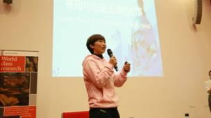 圖輯:世界冠軍陳一冰楊陽到訪埃塞克斯大學