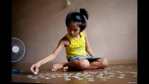 फिलिपींस की 10 साल की मैका
