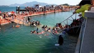 चीन पुल दुर्घटना