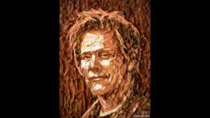 Jason Mecier'in Kevin Bacon portresi