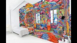 Marsilya'daki Au Vieux Panier oteldeki Panik Odası