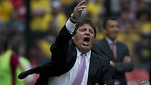 Miguel Herrera, DT de la selección mexicana de fútbol