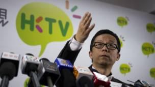 香港电视网络主席王维基(16/10/2013)