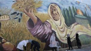 फलस्तीन, कलाकार