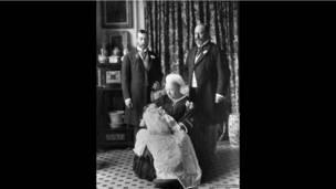 爱德华八世洗礼历史照片
