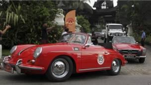 बर्मा की विंटेज कारें