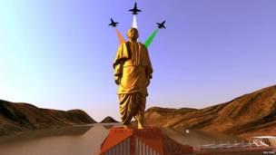 सरदार पटेल की मूर्ति,गुजरात