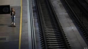 रेलवे प्लैटफॉर्म, स्पेन
