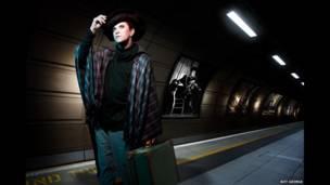 Steve Strange - One Man on a Lonely Platform - Boy George