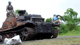विद्रोहियों का टैंक