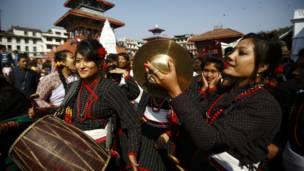 नेपाल सम्बतको झांकी