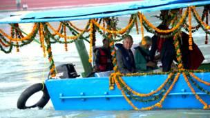 ब्रिटेन के प्रिंस चार्ल्स और डचेज़ ऑफ़ कार्नवाल कैमिला, भारत की यात्रा