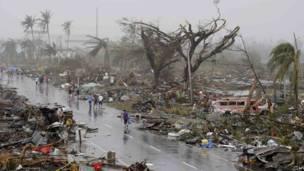 तूफ़ान, हेयान, फिलीपींस