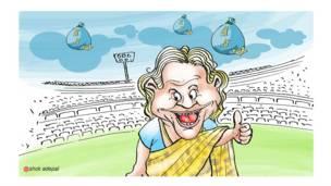 राजनीतिक कार्टून, शीला दीक्षित
