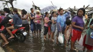 Korban Topan Haiyan