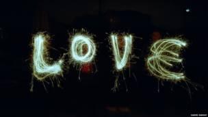 A palavra 'amor'