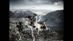 पश्चिमी मंगोलिया, का कजाख़ समुदाय,  तस्वीर- जिम्मी नेल्सन पिक्चर्स