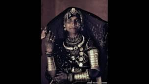 Женщина из народности рубари в Индии