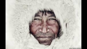 مرد قبیلهای ننت. عکسهای جیمی نلسون