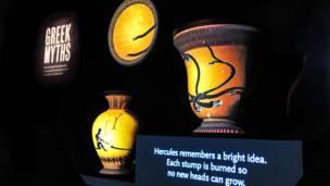 El mito de Hércules y la Hidra.(Foto : © AMNH / D. Finnin )