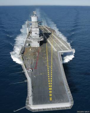 भारतीय नौसेना का विमानवाहक पोत विक्रमादित्य