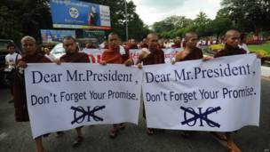 Protes di Yangon