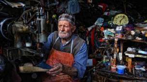 Shoe Repair Shop, Bulent Suberk, Turkey, 2013 CGAP Photo Contest