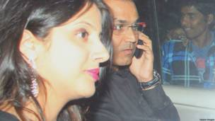 वीरेंद्र सहवाग और आरती सहवाग