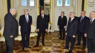 Vyana, 19 noyabr 2013. Foto: president.az