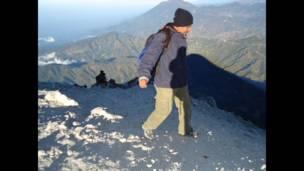 """Foto de un lector de BBC Mundo sobre """"lugares extremos"""""""