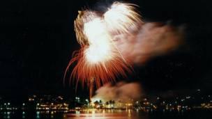 """Confira as imagens feitas pelos leitores da BBC Brasil sobre o tema """"fogos de artifício"""". Foto: José Luiz de Freitas"""