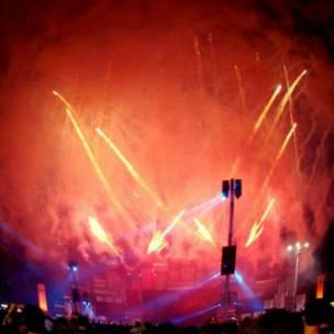 """Confira as imagens feitas pelos leitores da BBC Brasil sobre o tema """"fogos de artifício"""". Foto: Gabriela Buch"""